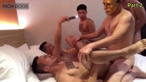 Group sex gay Trung Quốc